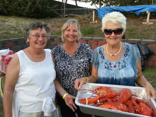 Lobster Bake - Yum!